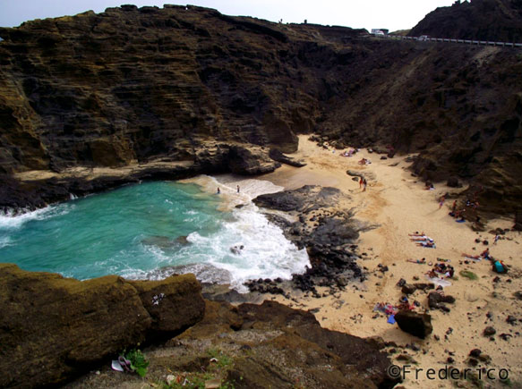 Halona Cove - Oahu