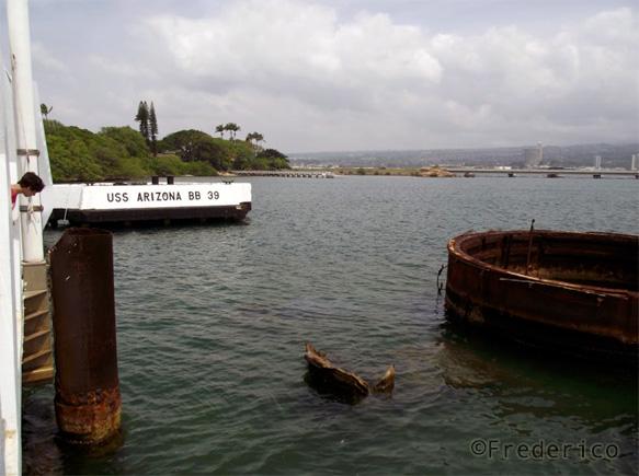 Feedback de viagem ao Havaí - Arizona Memorial