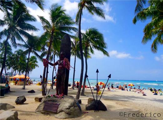 Feedback de viagem ao Havaí - Waikiki