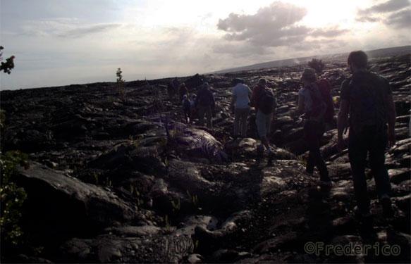Feedback de viagem ao Havaí - trilha no vulcão