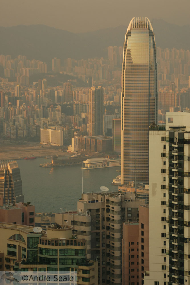 Por um cartão postal limpo - Hong Kong