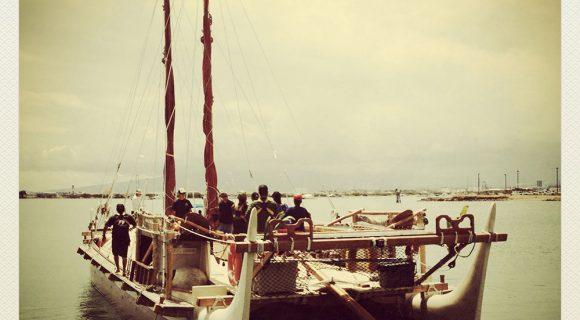 Dia Mundial dos Oceanos 2013 – O mundo em uma canoa havaiana
