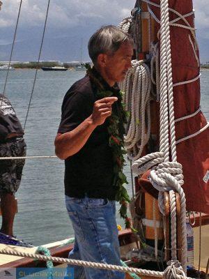O mundo em uma canoa havaiana