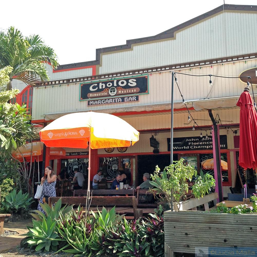 Bares e baladas - Cholo's - North Shore de Oahu