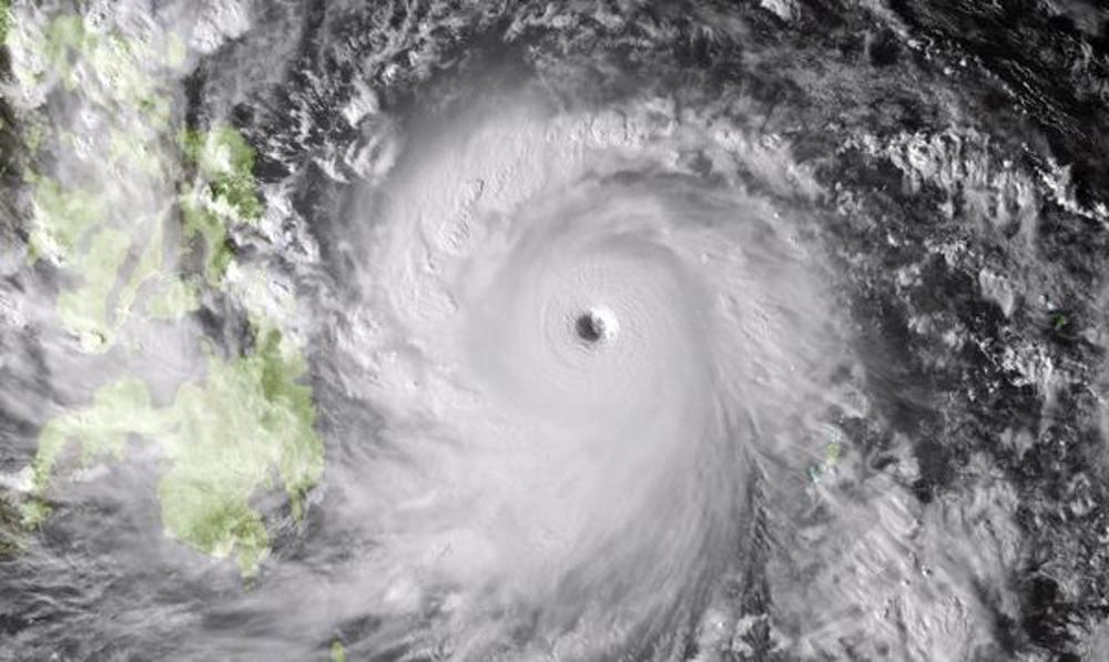 Super-tufão Hayan nas Filipinas