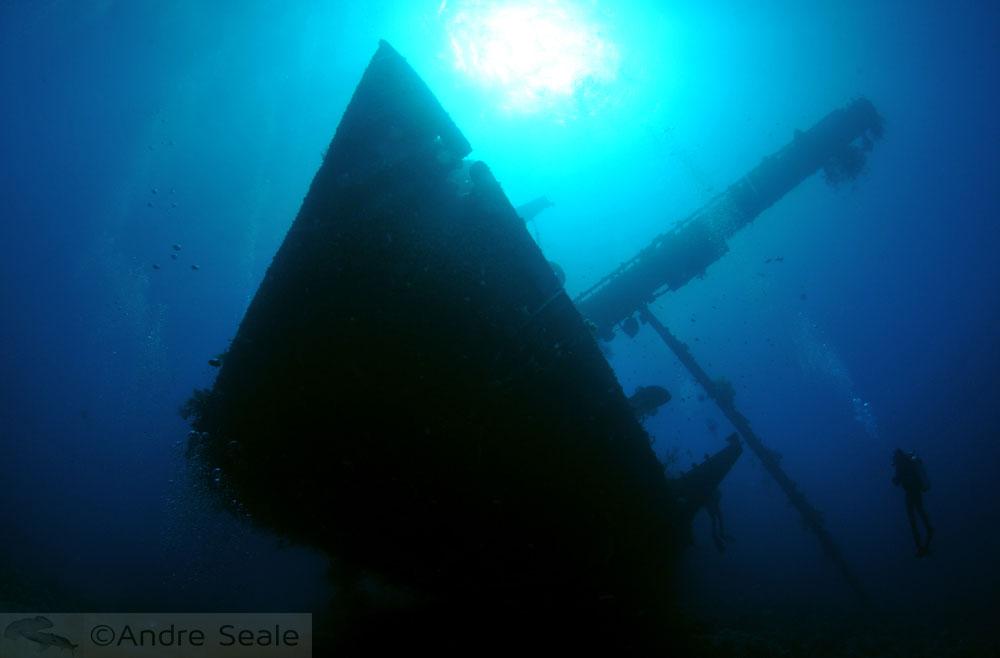 Naufrágio - mergulho em Aqaba - Jordânia