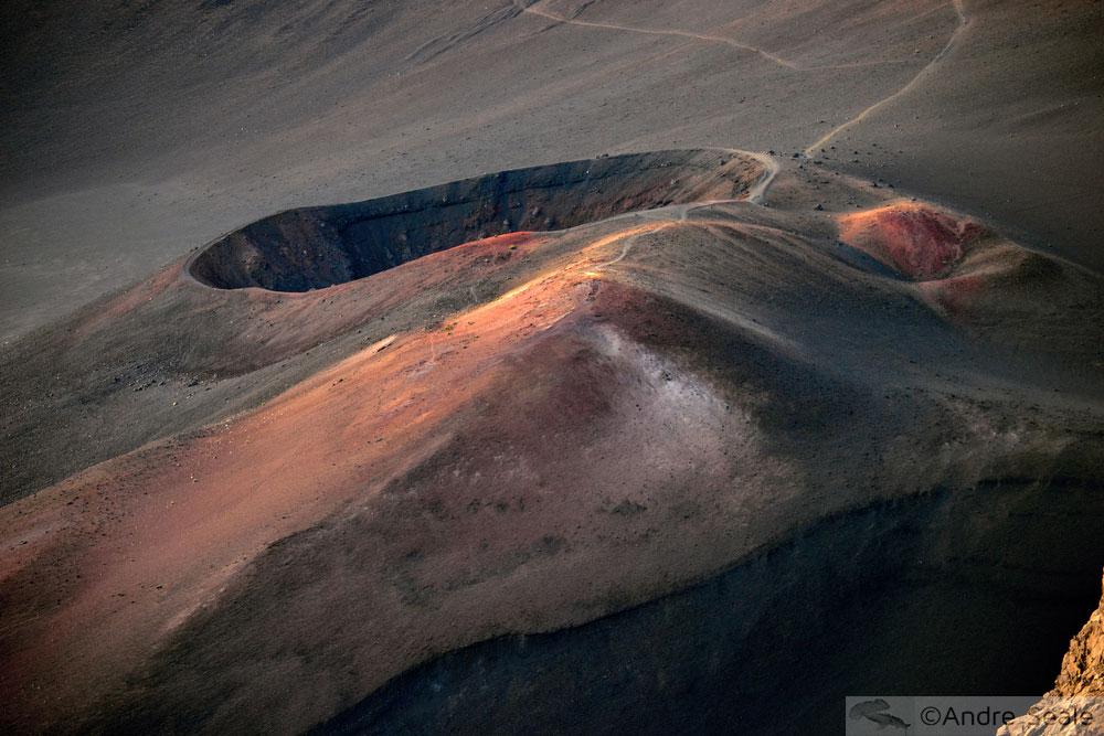 Cratera do Haleakala - som do silêncio - Maui
