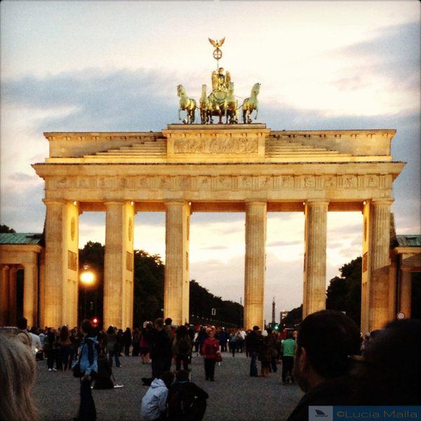 Portão de Brandemburgo - Visita a Berlim