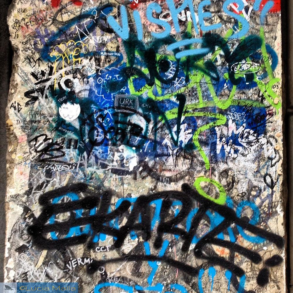 Grafite do Muro de Berlim - visita a Berlim - Alemanha