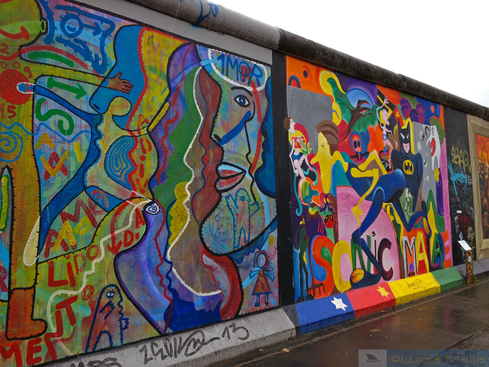 Grafites do Muro de Berlim - East Side