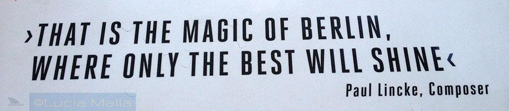 The magic of Berlin - Paul Lincke