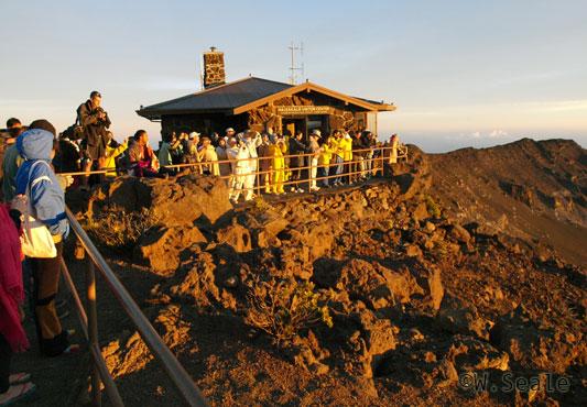 Nascer do sol no Haleakala - Maui - Havaí