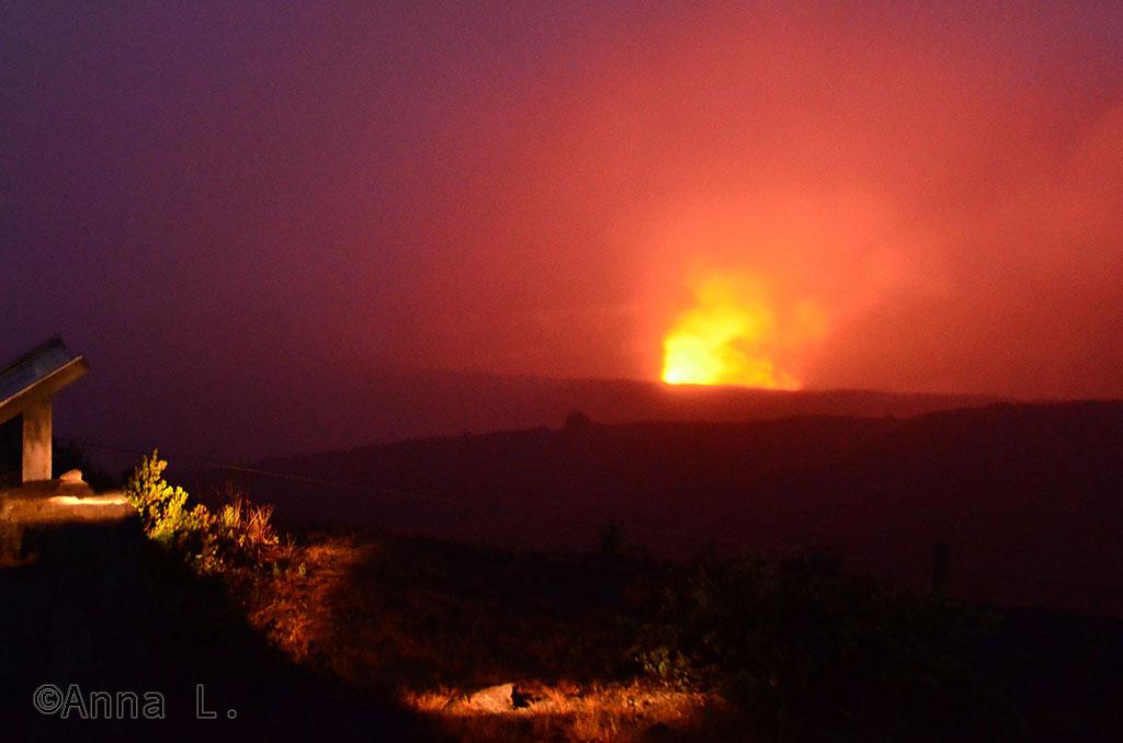15 dias no Havaí da Anna - cratera do Kilauea