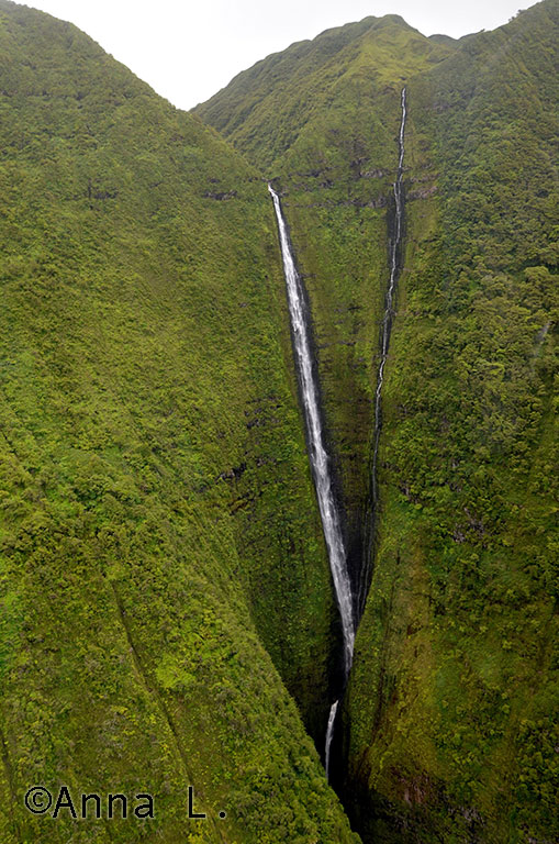 Cachoeira em Molokai - Havaí