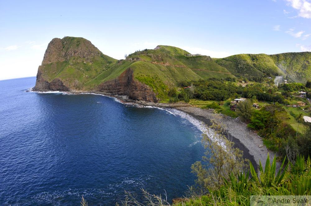 Top 10 praias do Havaí - Kahakuloa Beach - Maui