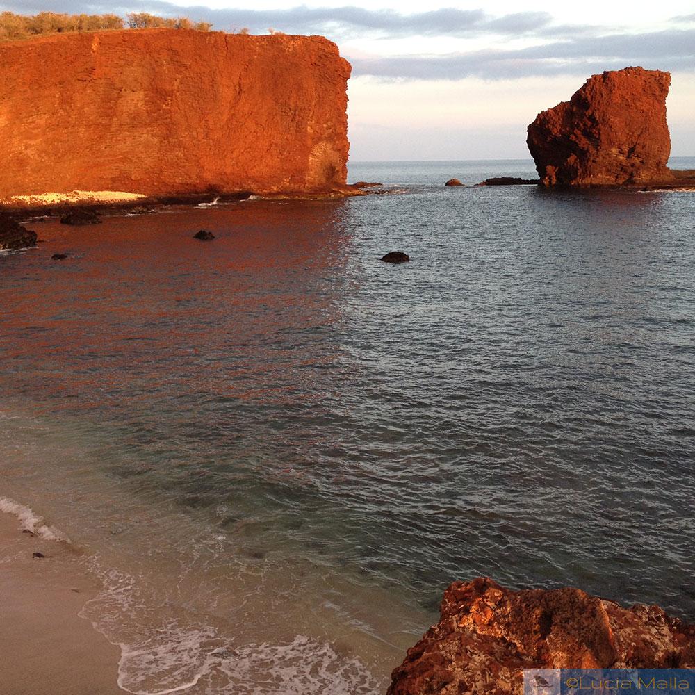 Hulopoe Beach - Lanai - município de Maui