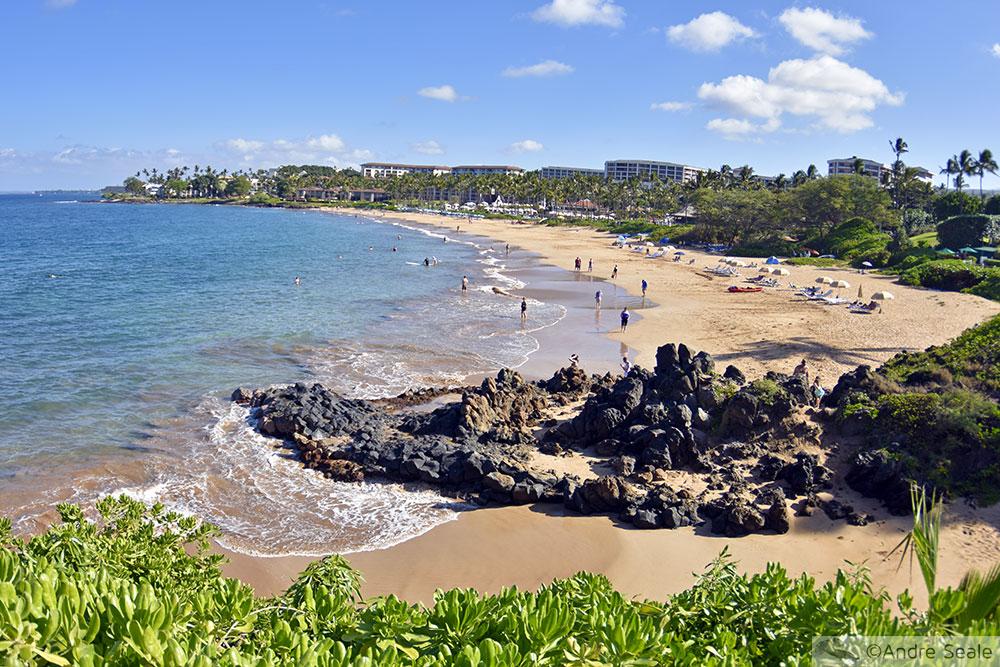Top 10 Praias do Havaí com praias de Kauai e Big Island - Wailea Beach - Maui