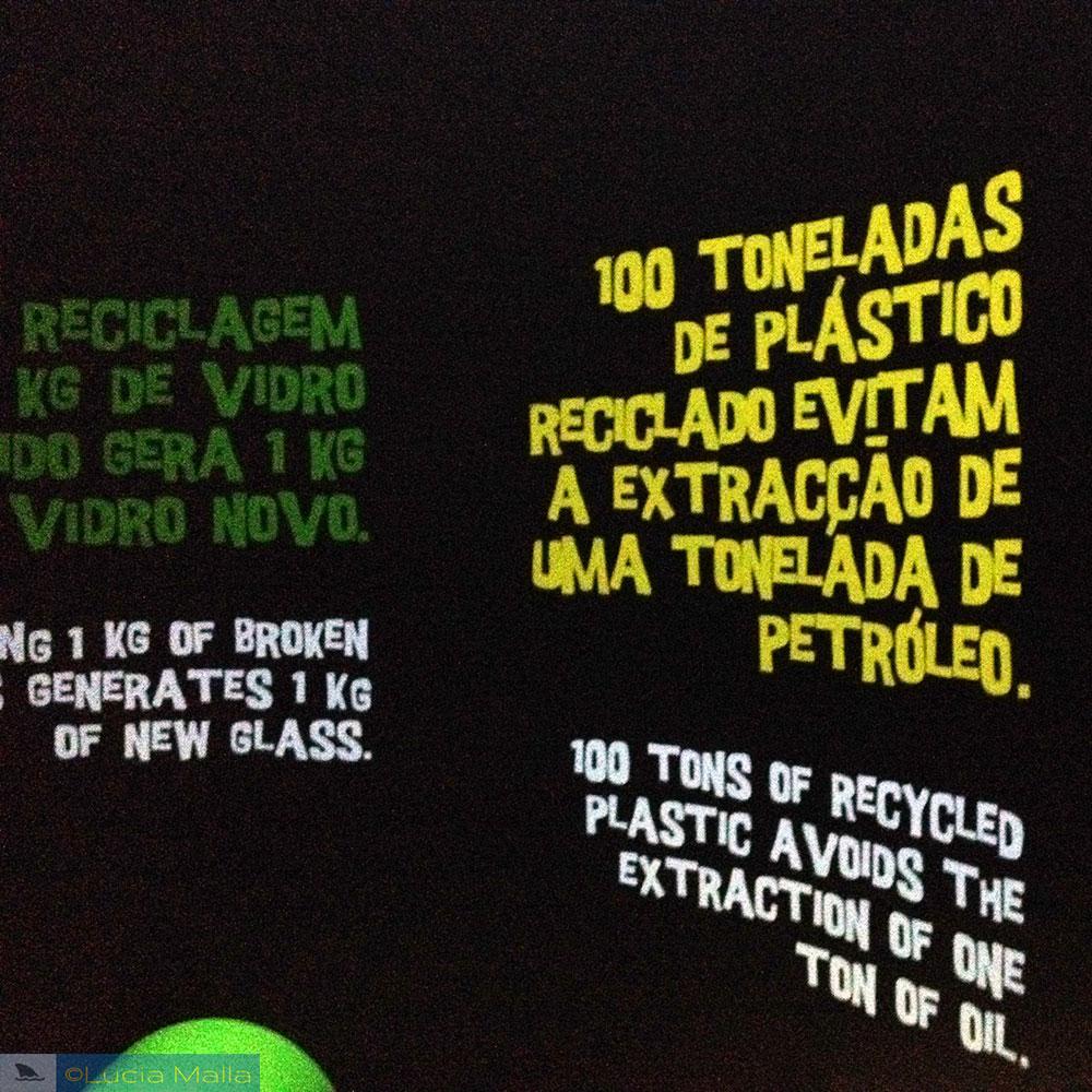 Lixo plástico e educação ambiental