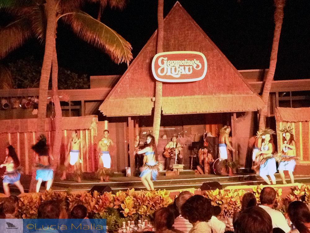 Guia de luaus no Havaí - Germaine's