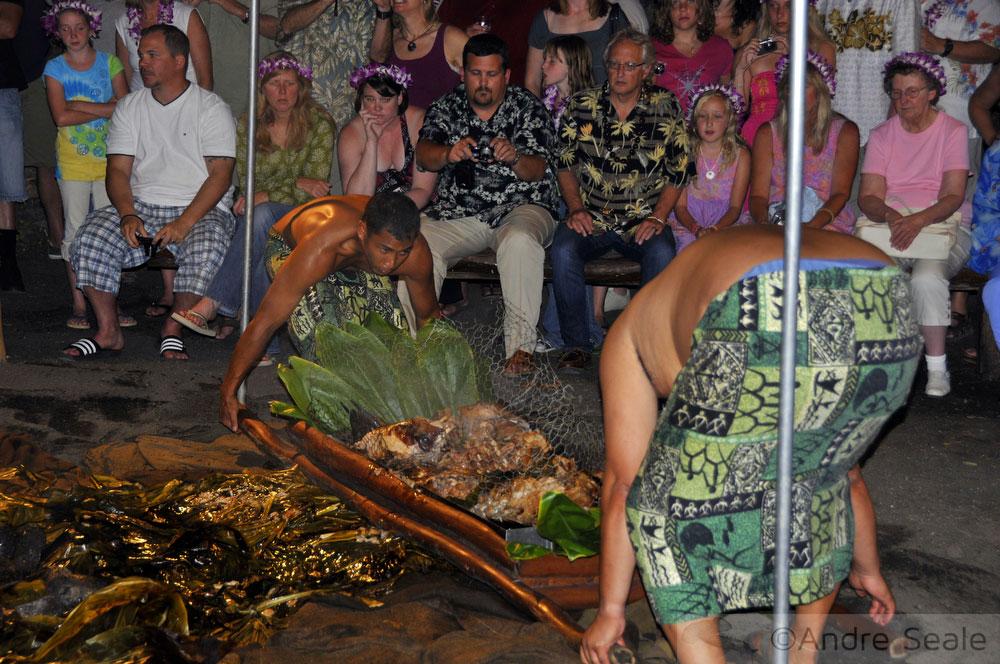 Guia de luau no Havaí - imu