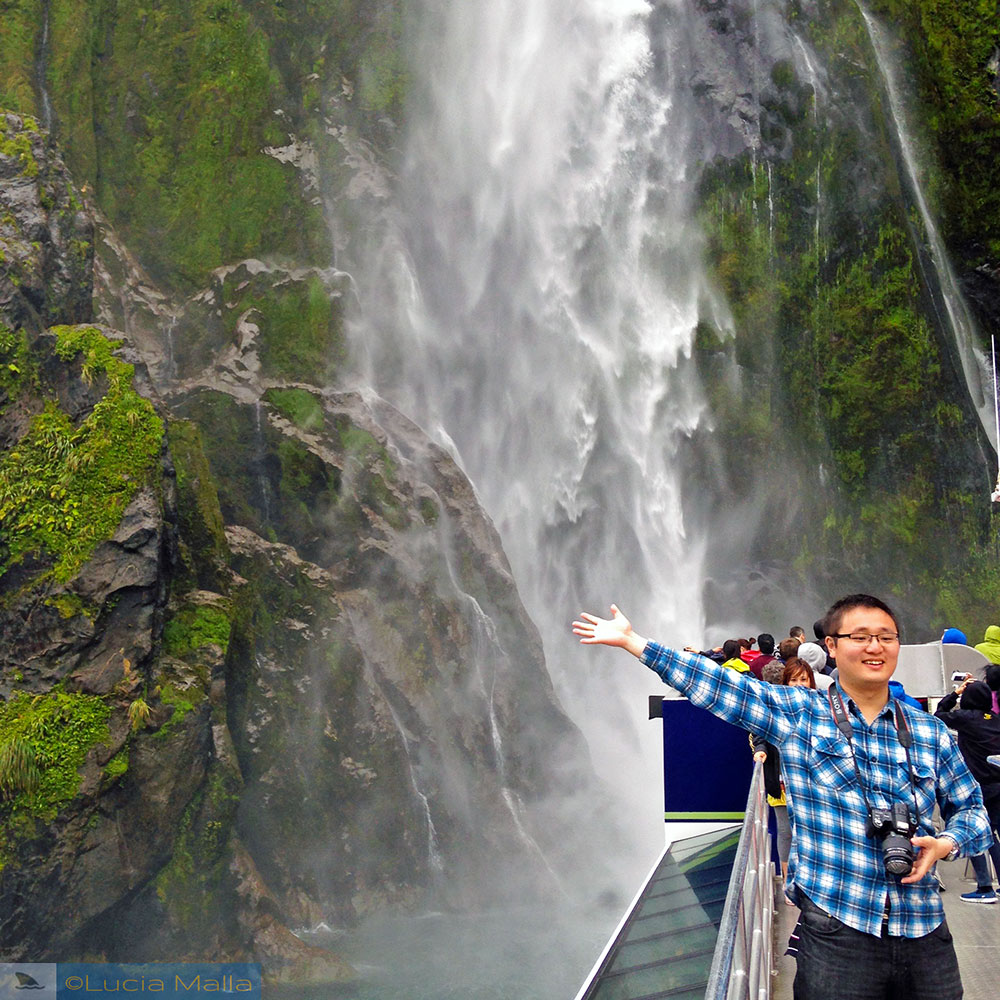 Cachoeira - Milford Sound - Ilha Sul