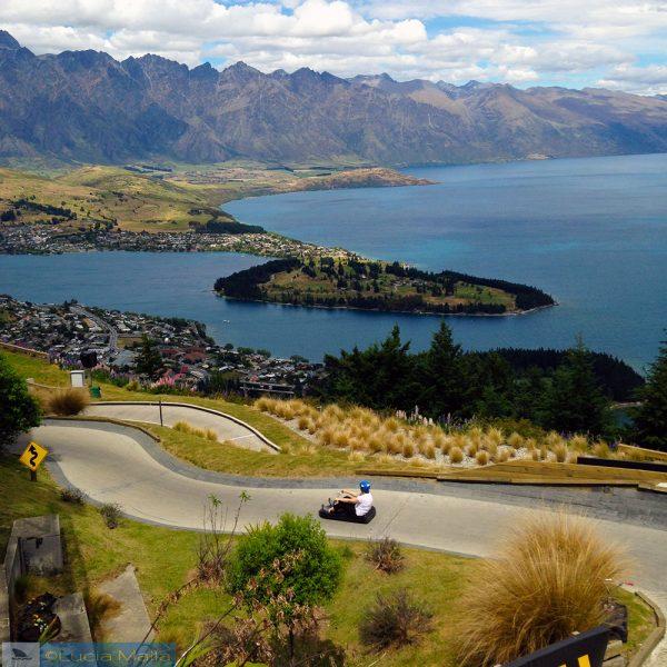 Luge em Queenstown - Nova Zelândia em 12 dias
