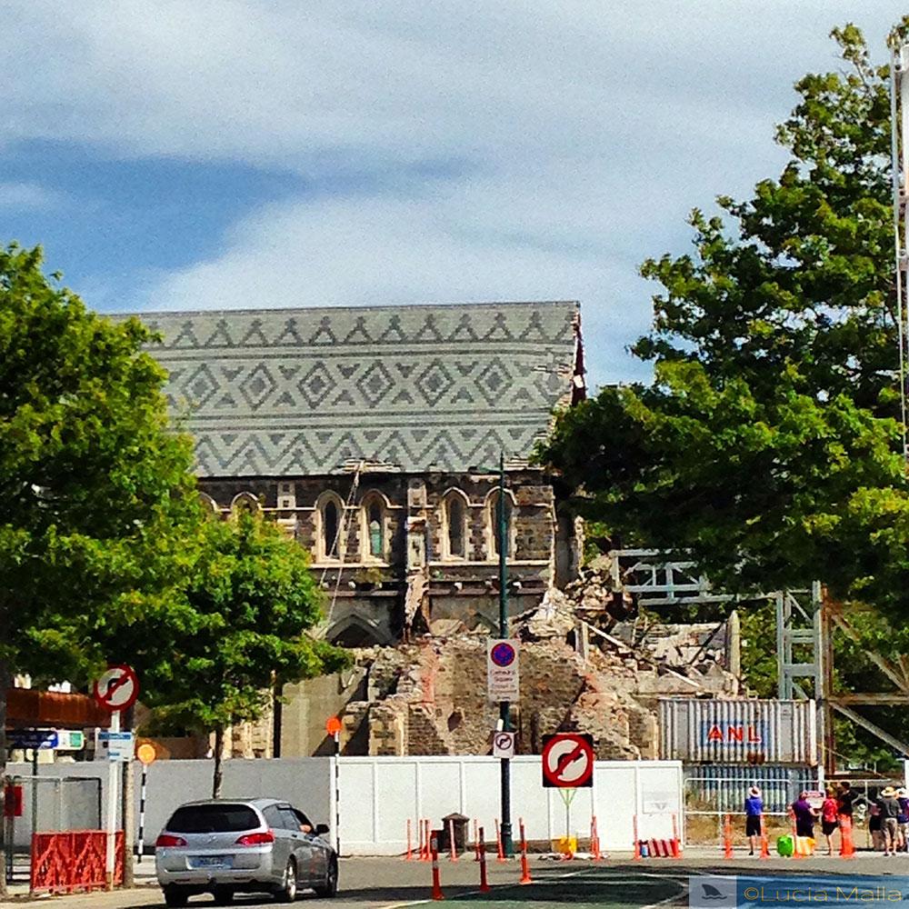 Nova Zelândia em 12 dias - Catedral de Christchurch