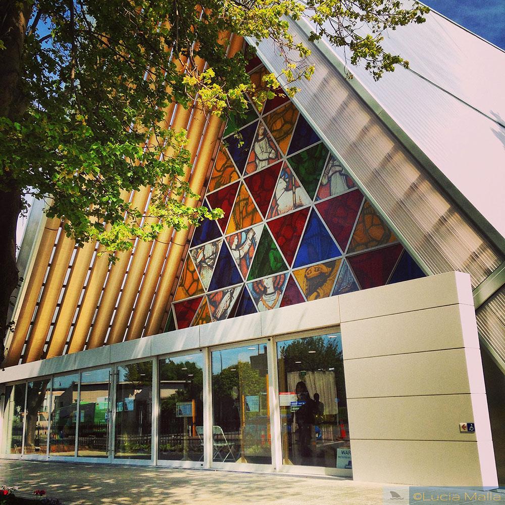 Roteiro Nova Zelândia em 12 dias - Cardboard Cathedral