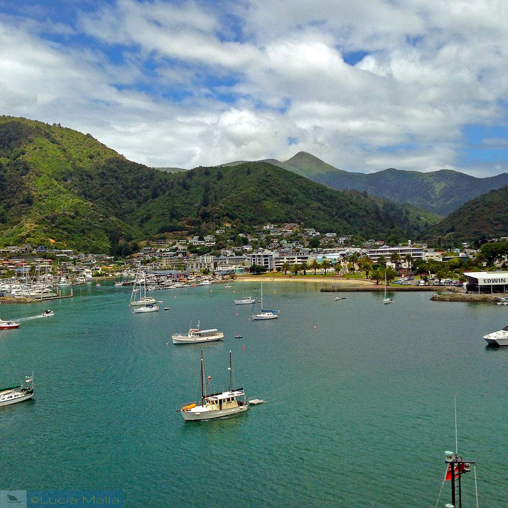 Roteiro Nova Zelândia em 12 dias - Baía de Picton