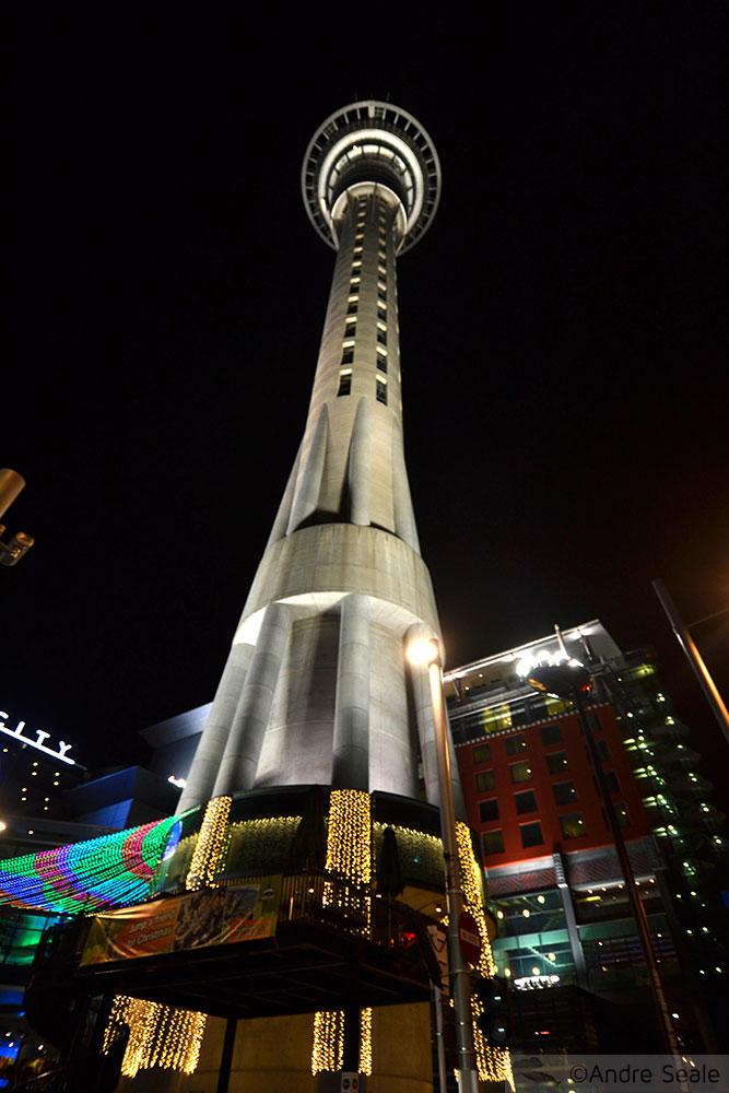 Nova Zelândia em 12 dias - torre de Auckland - Ilha Norte