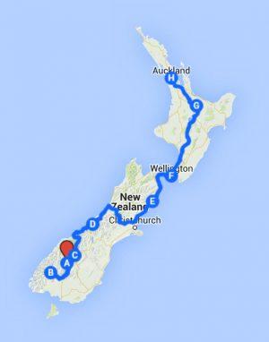 Nova Zelândia em 12 dias