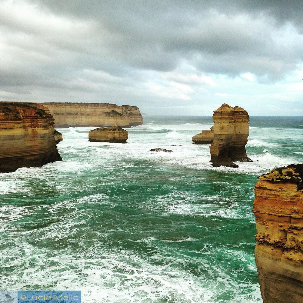 Great Ocean Road - formações rochosas