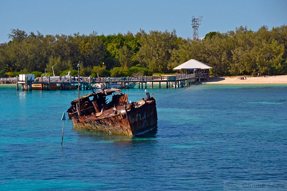Píer da ilha de Heron - Austrália