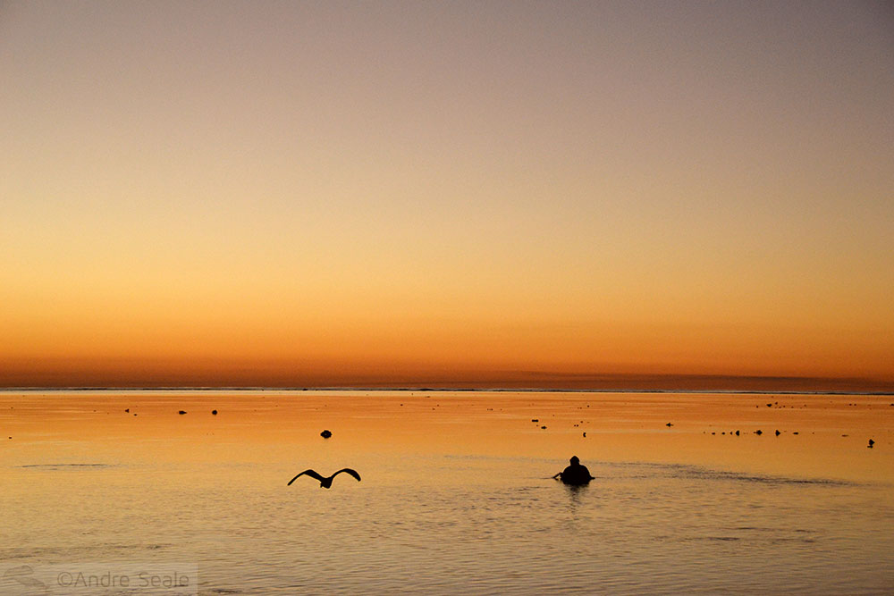 Por do sol - Austrália