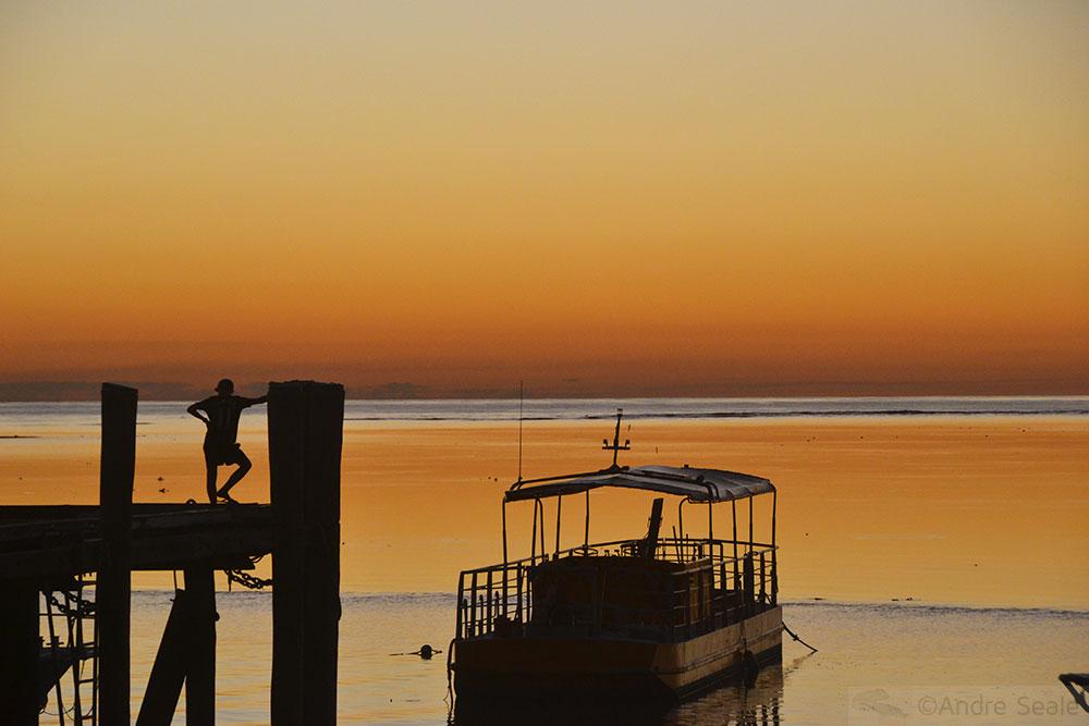 Por do sol - Heron Island - Austrália