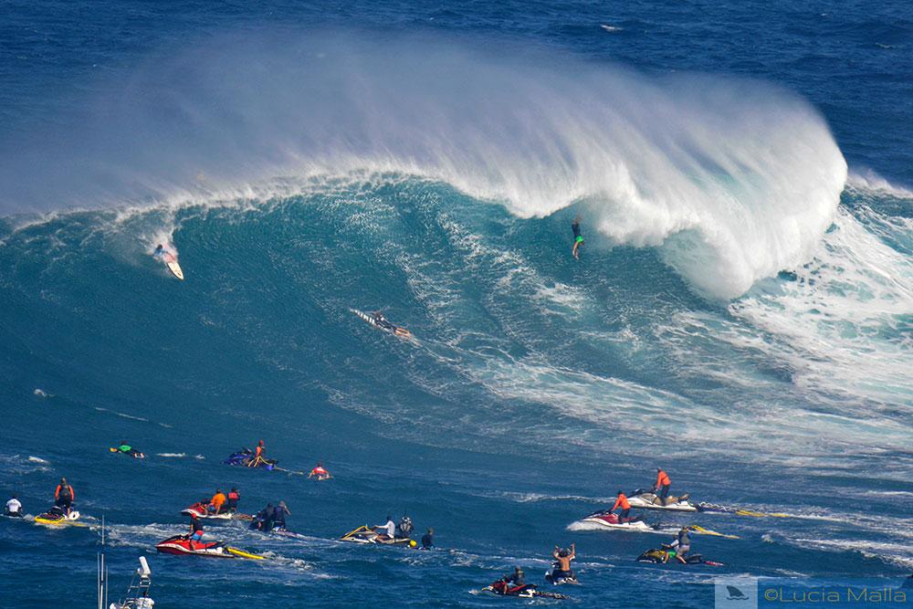 Surfe em Peahi - Maui