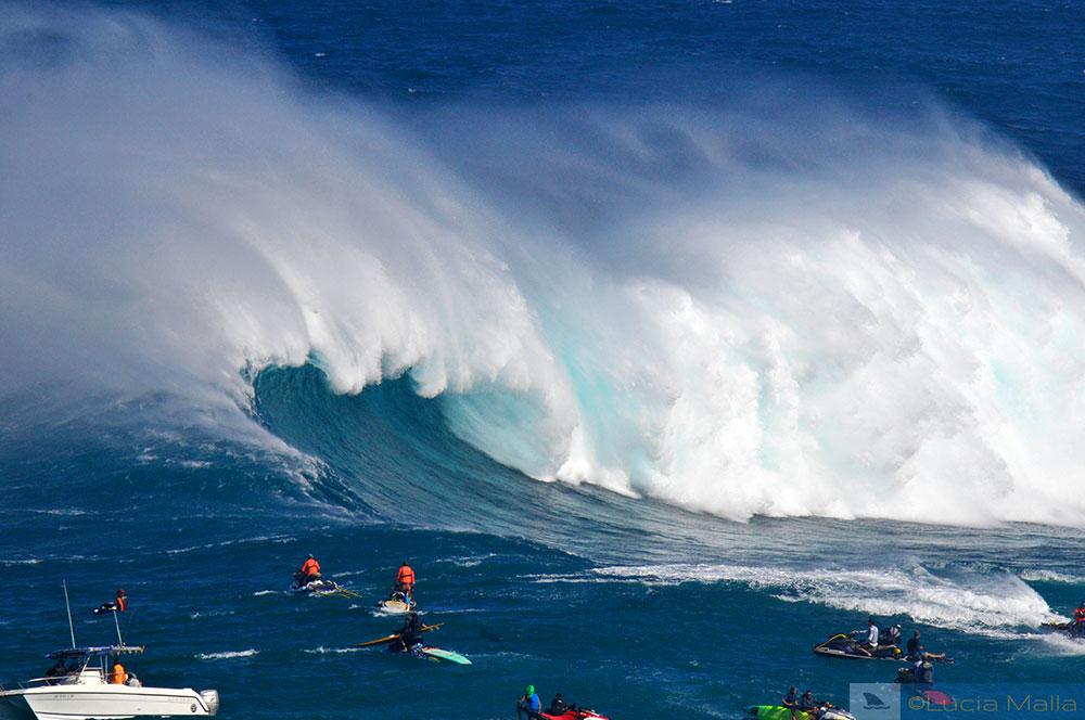 Onda de Jaws - Maui - Havaí