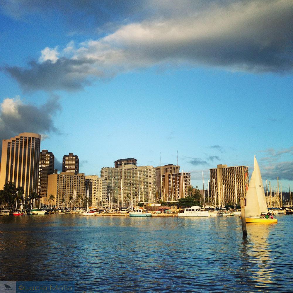 Guia Malla de hotel em Oahu - Waikiki