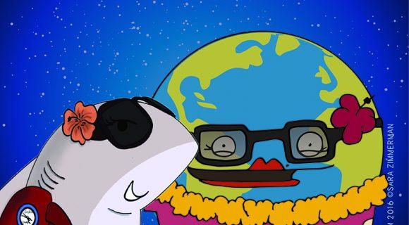 Com a Terra no dia da Terra