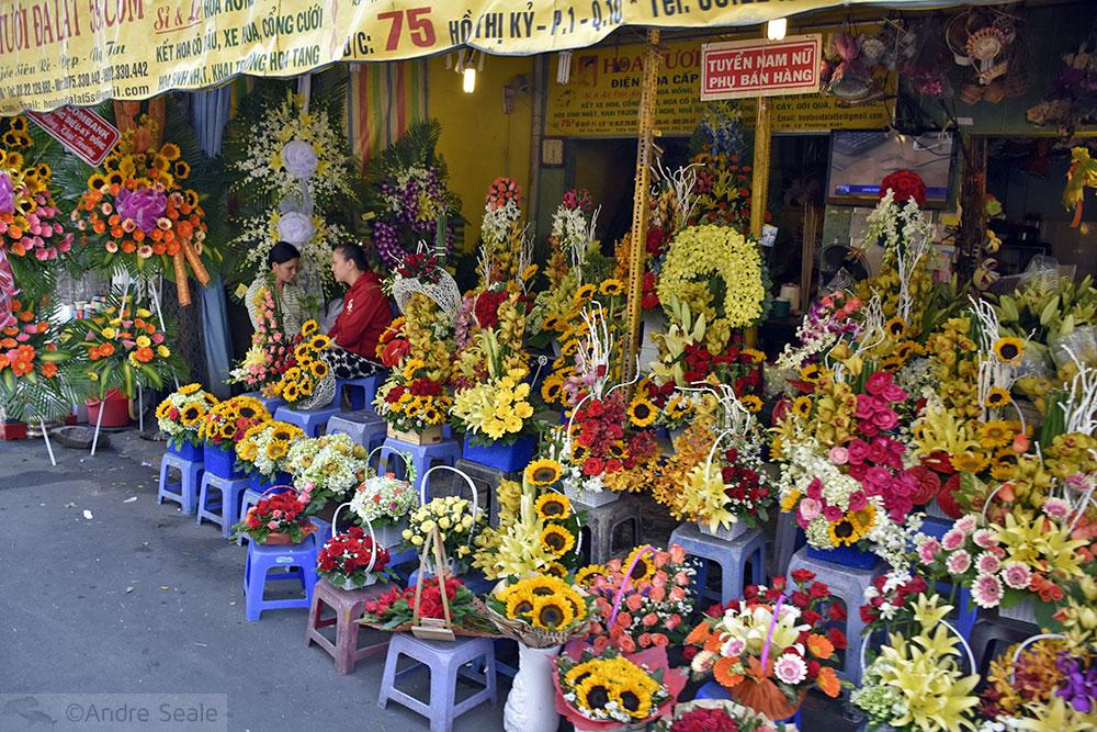Loja de flores - Ho Chi Minh City - Vietnam