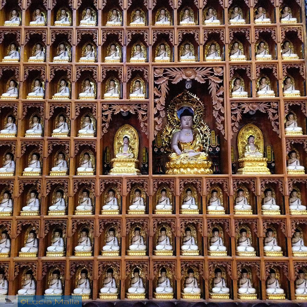 Pagoda dos 1000 Budas - Saigon - Vietnã