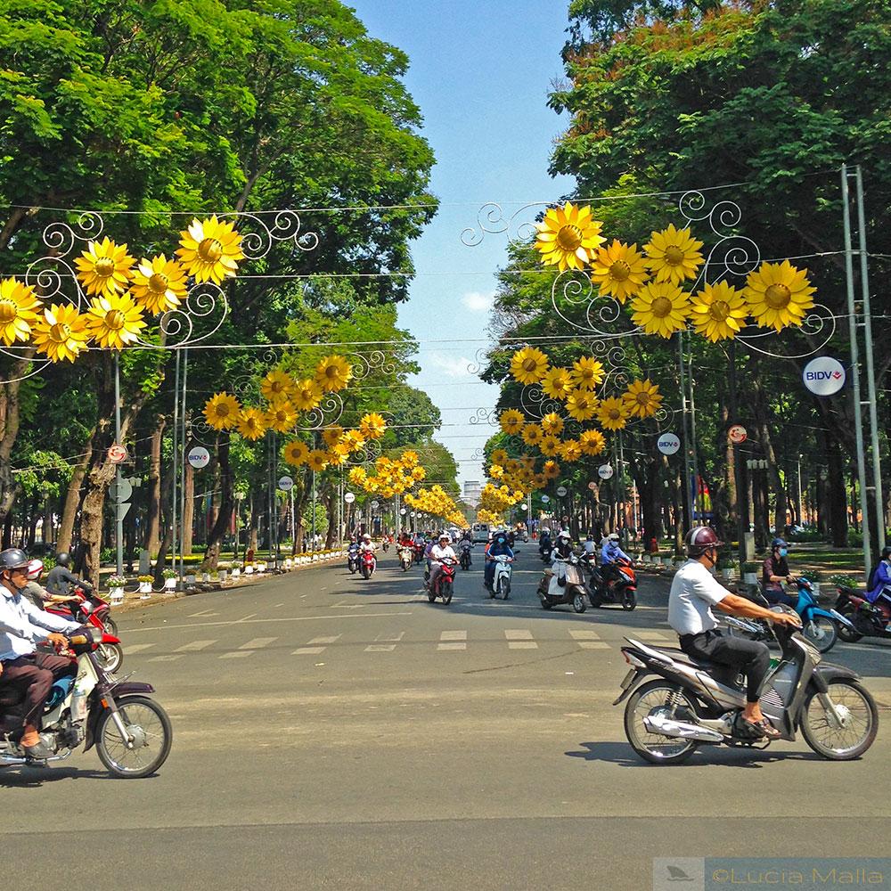 Rua em Saigon - Vietnam