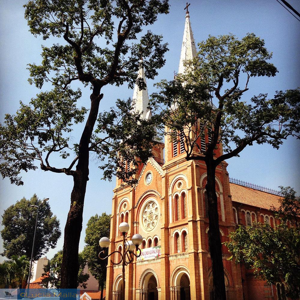Catedral de Notre Dame - Ho Chi Minh City - Vietnã