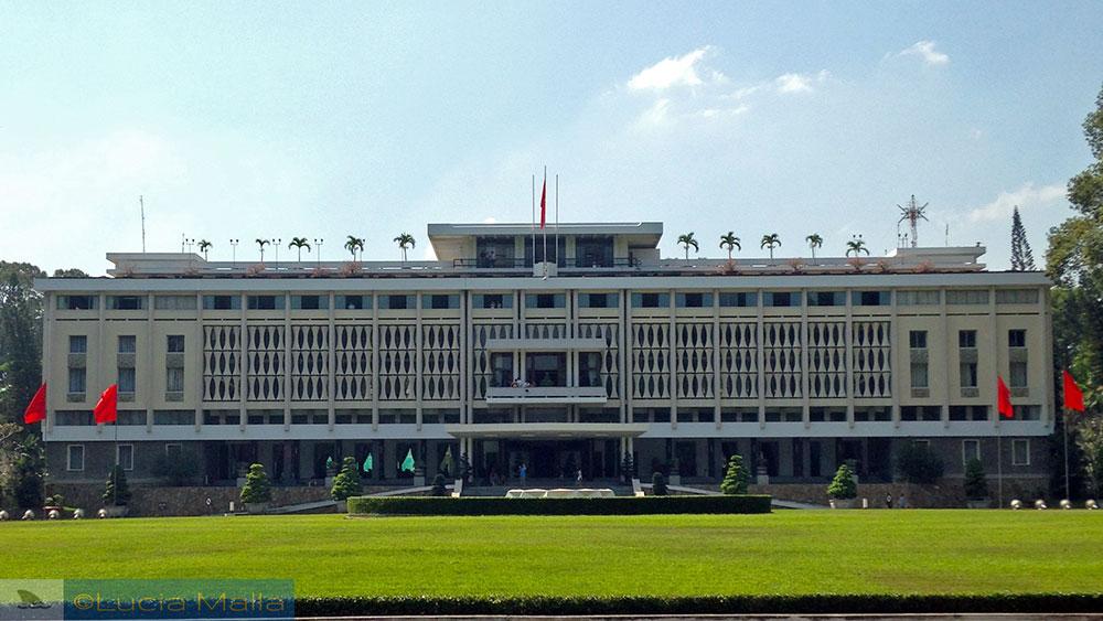 Palácio da Reunificação - Ho Chi Minh City - Vietnã