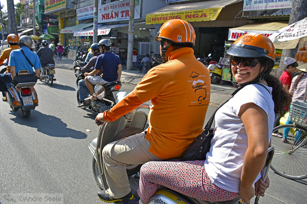 Tour de vespa - Ho Chi Minh City - Vietnã