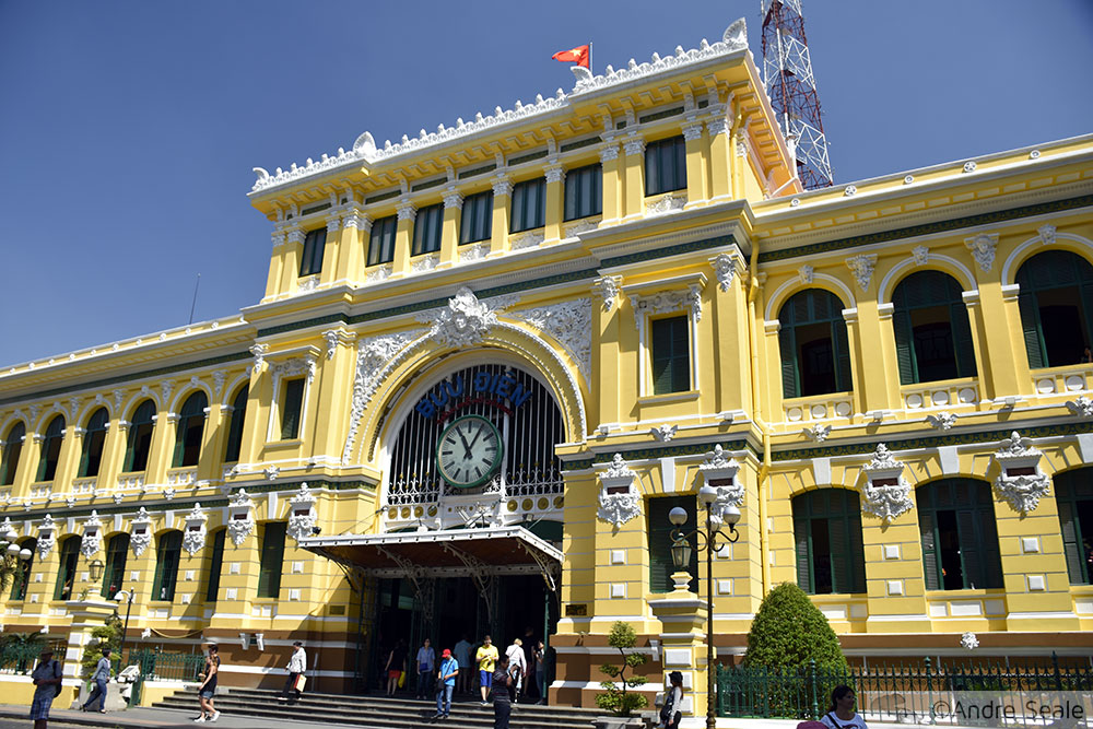 Correios de Saigon - Vietnã