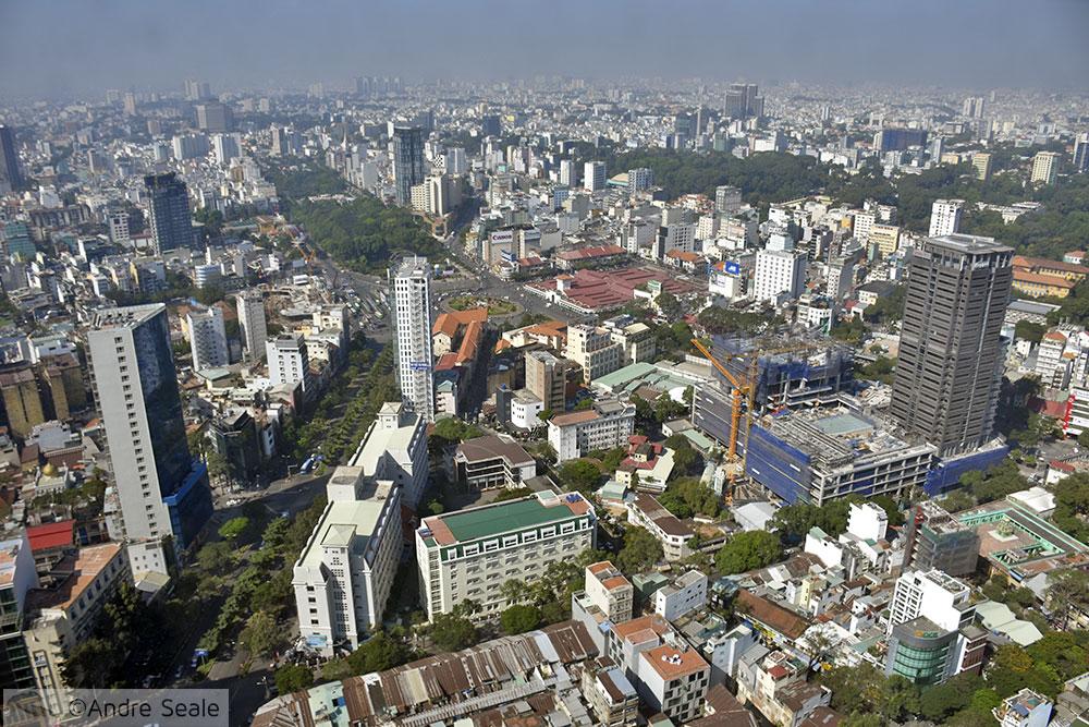 Vista do Skydeck - Bitexco Tower - Ho Chi Minh City