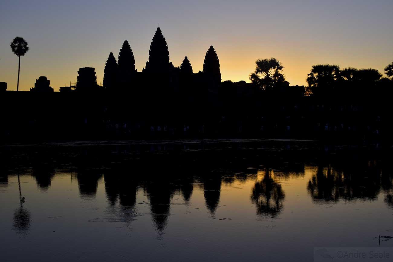 Amanhecer - Angkor Wat - Camboja