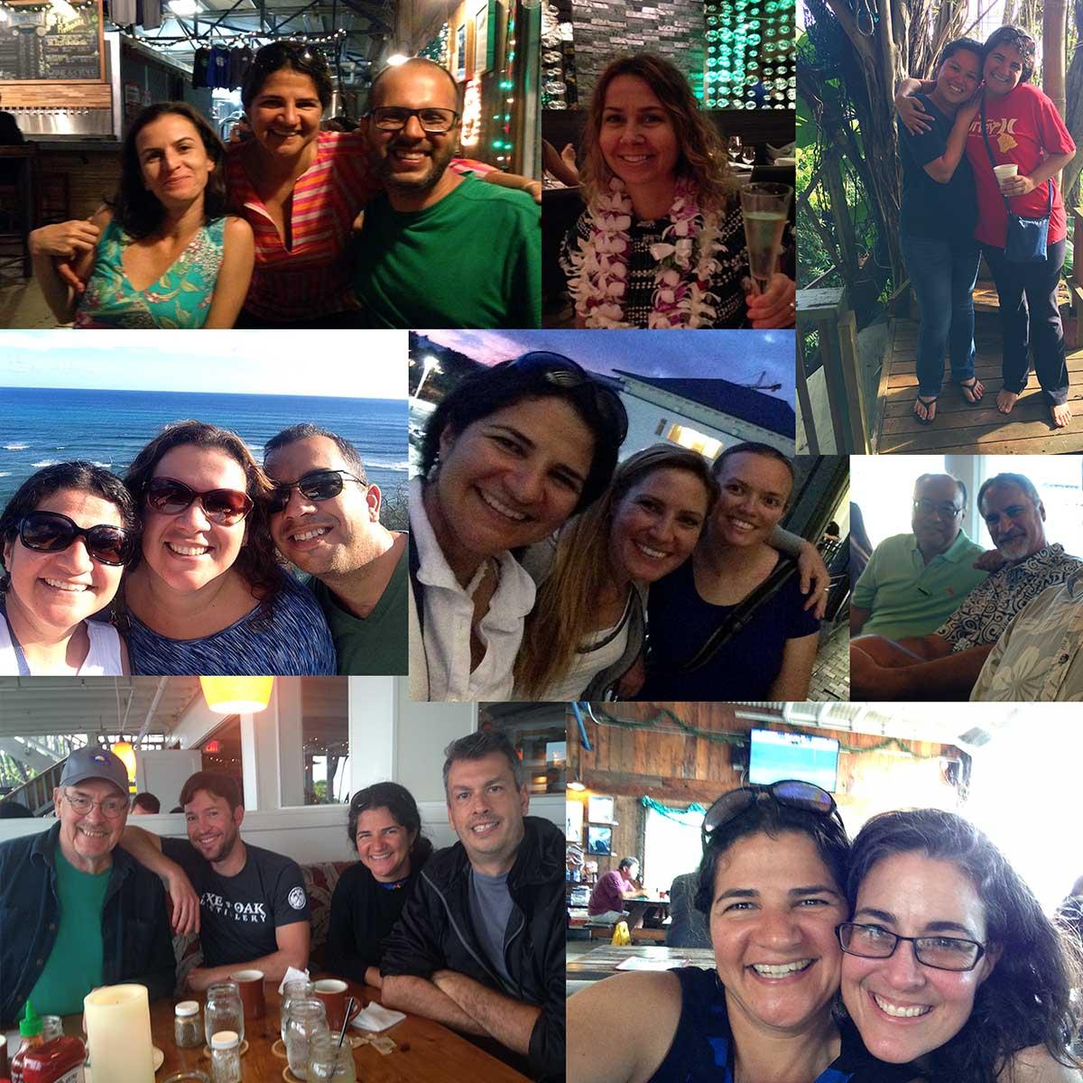 Visitas no Havaí