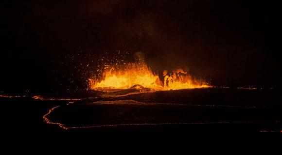 O (infra) som do vulcão Kilauea